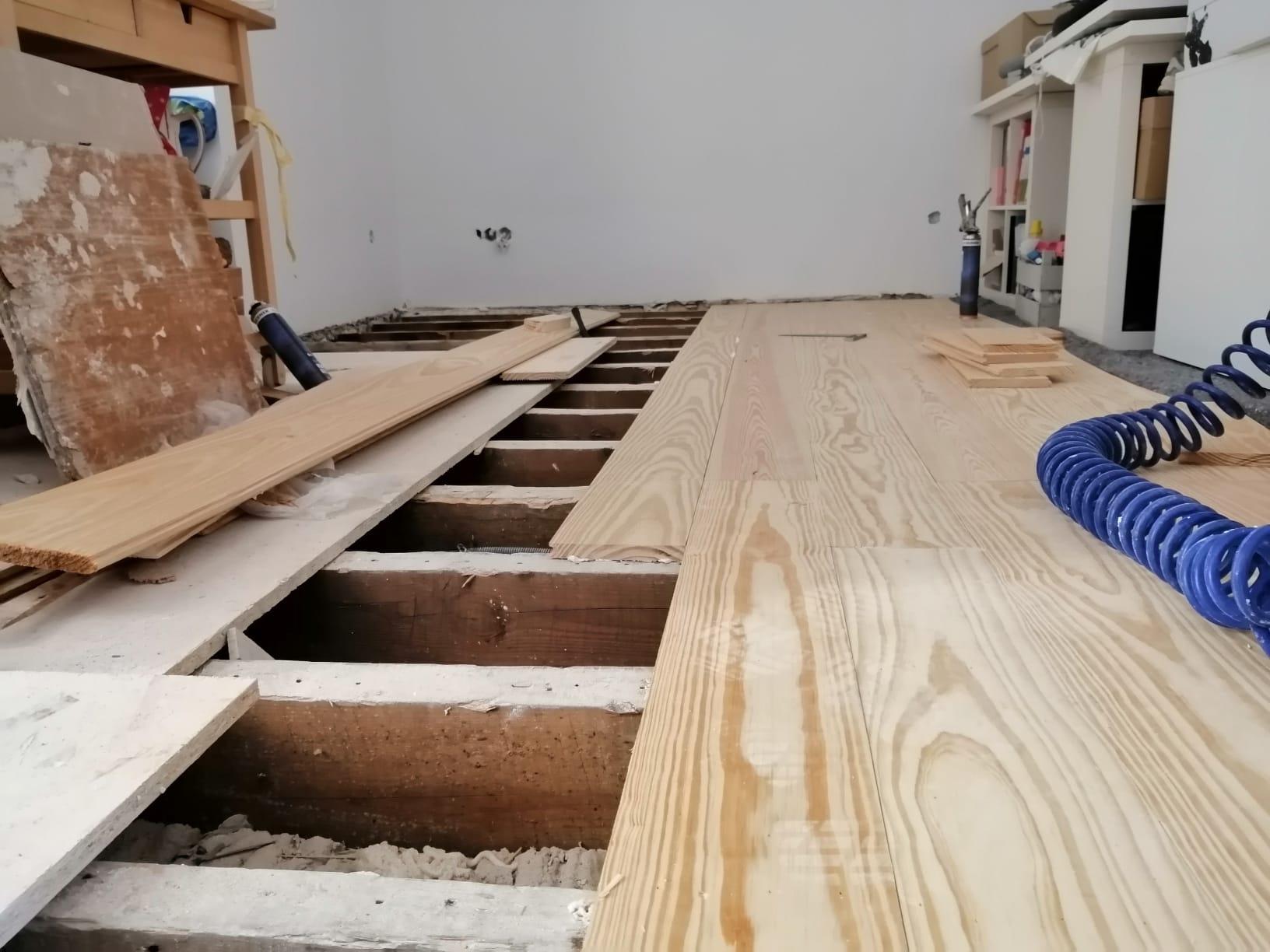 Remodelação de Chão